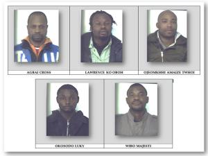 foto arrestati