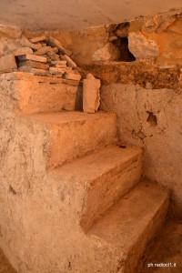 secondo accesso alla cripta