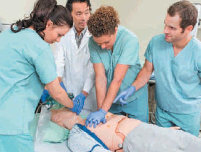 Parte al cefpas il centro mediterraneo di simulazione in for Simulazione medicina
