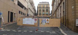 il cantiere a inizio lavori (marzo 2015)
