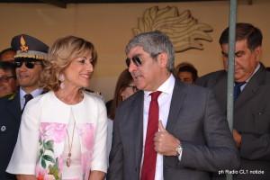 Il Prefetto M.Teresa Cucinotta il Questore Bruno Megale