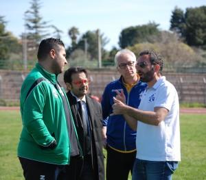 Da sinistra, Lo Celso, Campione, D'Oro e Saraceno