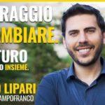 Enrico Lipari nel volantino elettorale