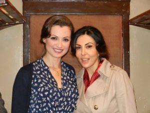Adriana Tuzzeo con Sabrina Ferilli