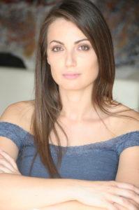 Adriana Tuzzeo, presentatrice della seconda serata e della serata finale