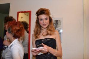 Anna Di Sciacca per i collegamenti dal back stage (2)