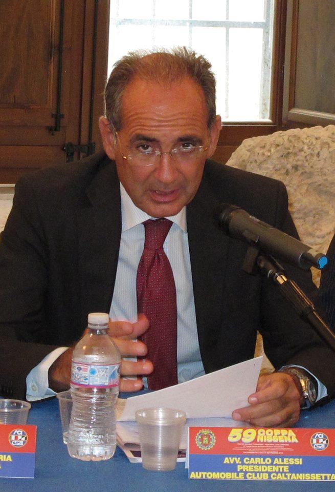 Avv Carlo Alessi presidente ACI Caltanissetta