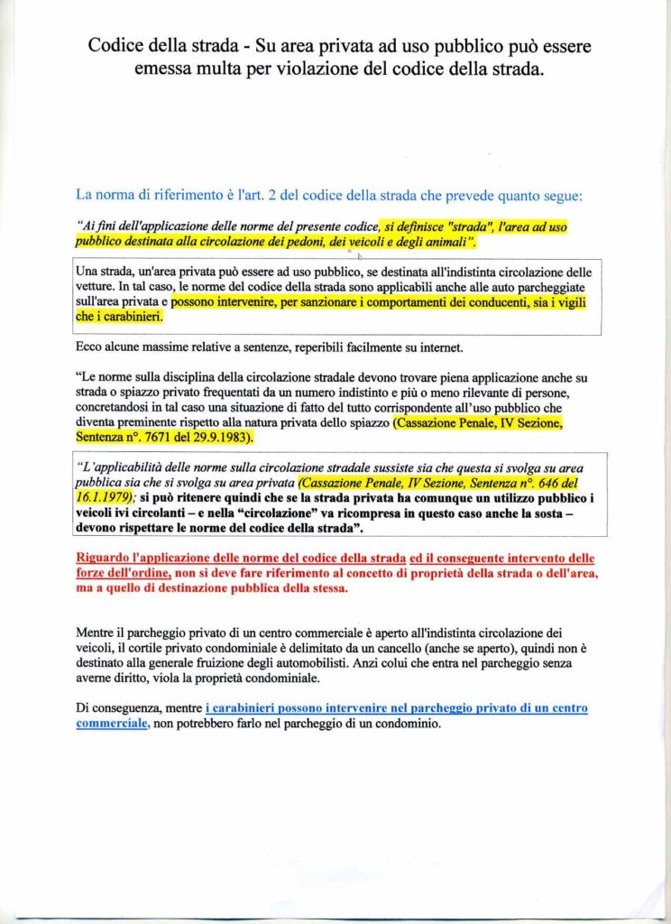 Codice-della-strada - articolo 2