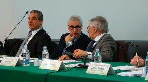 Maurizio Bernava - CISL - a sx Emanuele Gallo