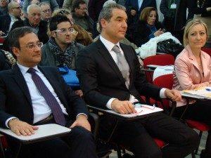 Cisl Emanuele Gallo con segreteria