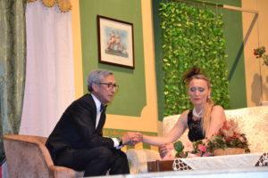 Fulgenzio (Michele Vitale) e Crocifissa (Alessandra Di Bartolo)