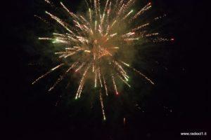 Fuochi d'artificio finali