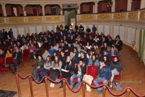 Gli studenti invitati alla conferenza