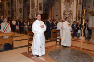 I due neo sacerdoti Don Leandro Giugno e Don Massimiliano Antonio Guarino