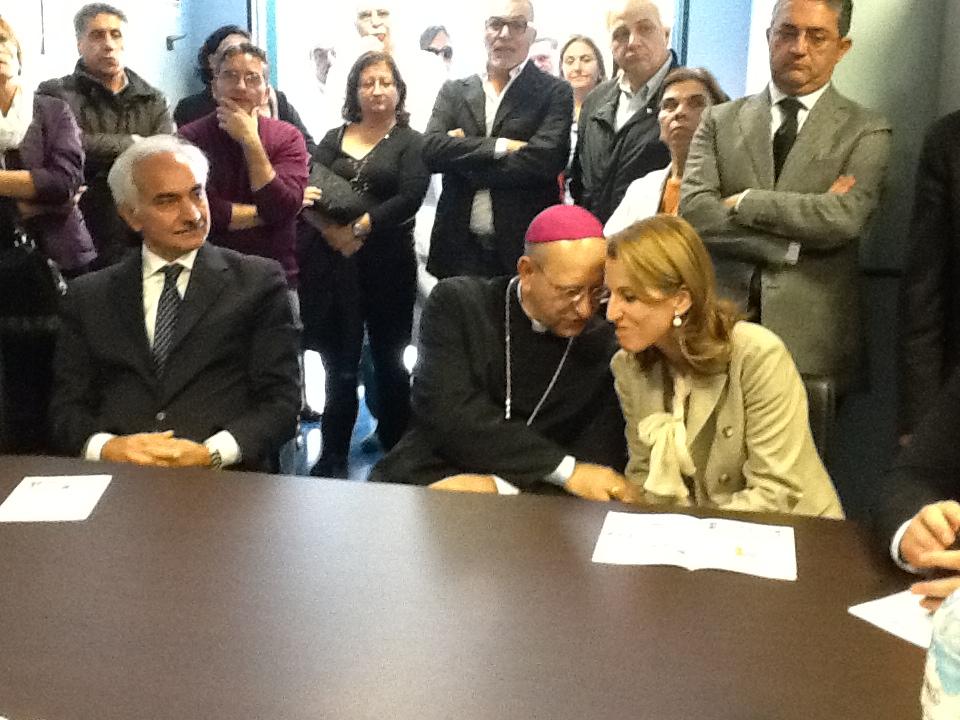 Il Prefetto, Il vescovo e Lucia Borsellino