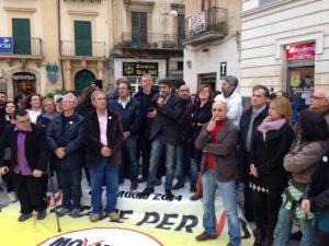 comizio Magrì Cancelleri Di Maio - 5 stelle