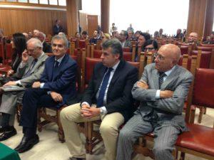 Sergio Lari tra il pubblico