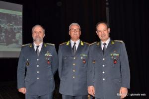 Il Luogotenente Vincenzo Giannavola tra i Generali Gibilaro e Galdino