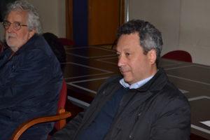 Il candidato sindaco Giovanni Ruvolo