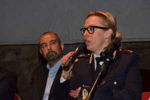 Il comandante Maria Grazia Milli