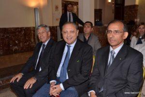 Il consigliere Carmelo Provenzano, l'ing.Manlio Averna ed il v.presidente Calogero Parrinello