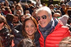 Il dr Cupani con la signora Giovanna