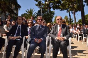 Il dr Antonino Porracciolo, il dr Paolo Fiore e il dr Salvatore Cardinale