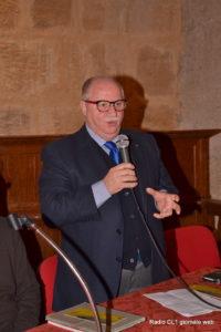 Il presidente della Pro Loco Giuseppe D'Antona