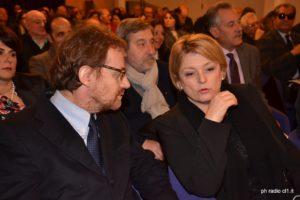 Il prof. Maurizio del Conte con la presidente Marina Calderone