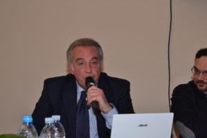 Il rag. Angelo Vitale durante il suo intervento