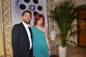 Il violinista Francesco Nicolosi e la cantante Debora Di Pietra