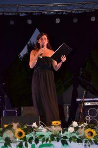 La brava presentatrice Roberta Curatolo