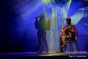 La cantante Giovanna Caruana e il chitarrista Mario Ferrara