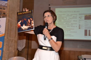 La d.ssa Francesca Fiandaca direttrice del Museo Dioceesano