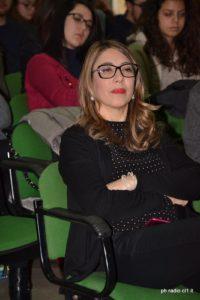 La d.ssa Irene Collerone dirigente del Liceo R.Settimo