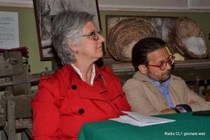 La dirigente dell'Istituto Manzoni-Juvara Giuseppina Mannino e l'assessore Carlo Campione
