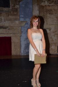 La presentatrice Rita Cinardi