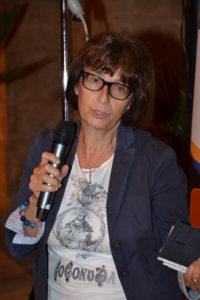 La prof.ssa Laura Zurli, preside dell'Istituto Mottura