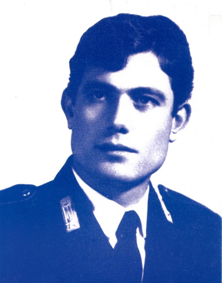 L'appuntato Emanuele Messineo