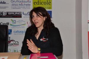 Laura Abaleo durante il suo intervento
