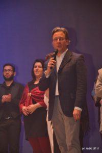 L'autore e regista Michele Albano