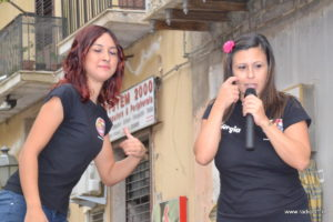 Le animatrici Emanuela Volo e Giorgia D'Angelo