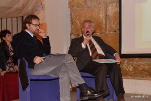 Il prof. Maurizio Del Conte e il Consulente del Lavoro Angelo Vitale