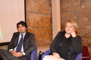 L'on. Gianluca Miccichè con Marina Calderone pres. Cons. Naz. Ordine