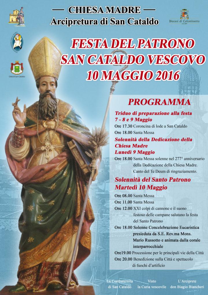 Manifesto SAN CATALDO 2016