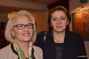 Marilia Turco con Caterina Chinnici