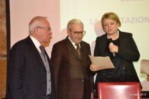 Marina Calderone premia Francesco Di Benedetto e Giuseppe Nicastro