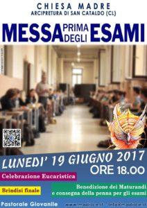 Messa prima degli esami 2017 - Immagine