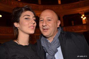 Miele con il padre Michele Paruzzo