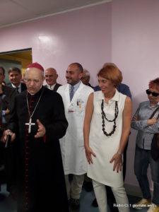 S.E. il Vescovo Mario Russotto e la d.ssa Valentina Virzì